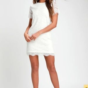 Lulu's Dresses - White lace dress